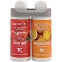 Rubbermaid 3485952 Microburst Duet Cotton Berry/Refreshing Citrus