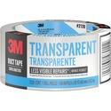 "Scotch® Tough Transparent Duct Tape, 1.88 "". x 20 yd."