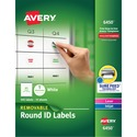 Avery Removable Laser/Inkjet ID Labels