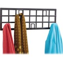 Safco Steel Grid Coat Rack