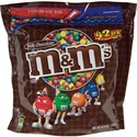 M&M's Plain Chocolate Candy w/Zipper