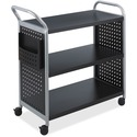 Safco Scoot 3 Shelf Utility Cart