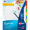 Avery Ultra Tab Heavyweight Paper Dividers