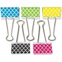Teacher Created Resources Moroccan Pattern Large Binder Clip