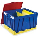Storex 4 Piece Collapsible Crates