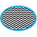 Ashley Chevron Oval Magnetic Whitebrd Eraser