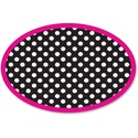Ashley Dotted Oval Magnetic Whitebrd Eraser