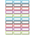 Ashley Dry Erase Chevron Nameplate Magnets