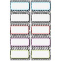 Ashley Chevron Magnetic Die-cut Nameplates