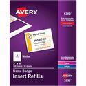 Avery Name Badge Insert Refill