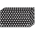 Ashley B/W Dots Design Index Card Holder