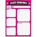 Ashley Big Magnetic Class Headlines Chart