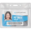 Advantus Vinyl ID Badge Holders