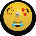 "Ashley Emoji Design 3"" Base Hand Bell"