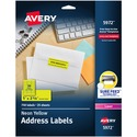 Avery High Visibility Labels
