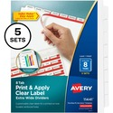 Avery Index Maker Extra-Wide Tab Dividers