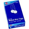 Avery Metal Rim Tag