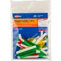 Avery Self-Adhesive Index Tabs With Printable Insert