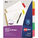 Avery Big Tab Write-On Divider with Erasable Tab