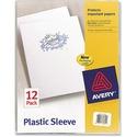 Avery Plastic Sleeve