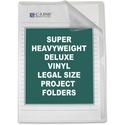 C-Line Deluxe Non-Glare Vinyl Project Folder