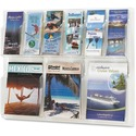 Safco 6-Pamphlet and 3-Magazine Literature Display Rack