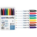 Expo Vis-à-Vis Wet Erase Overhead Transparency Markers