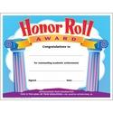 Trend Honor Roll Award Certificate