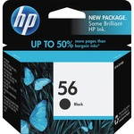 HP 56 Ink Cartridge - Black HEWC6656AN