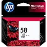 HP 58 Ink Cartridge - Black, Light Cyan, Light Magenta HEWC6658AN