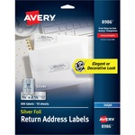 Avery Silver Foil Mailing Label AVE8986