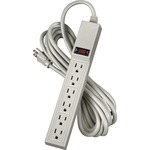 Fellowes 6 Outlet Power Strip w/15' Cord FEL99026