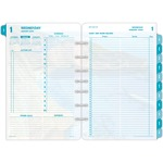 Day-Timer Coastlines 2 Pages Per Day Daily Refill DTM13180