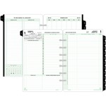 Day-Timer 2 Pages Daily Calendar Refill Pages DTM92800
