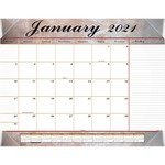 At-A-Glance Marble Look Desk Pad Calendar AAG89702