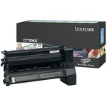 Lexmark Black Return Program Toner Cartridge LEXC7700KS
