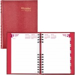 Rediform CB389C Daily Untimed Feint Ruled Planner REDCB389CRED-BULK