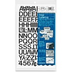 Chartpak Vinyl Letters and Numbers CHA01020