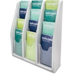 Deflect-o Countertop/Wall Mount Literature Holder DEF52809