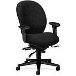 HON Unanimous 7608 Executive High-Back Chair With Seat Glide HON7608BW19T