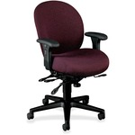 HON Unanimous 7608 Executive High-Back Chair With Seat Glide HON7608BW69T