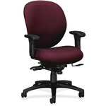 HON Unanimous 7628 Mid-Back Chair With Seat Glide HON7628BW69T