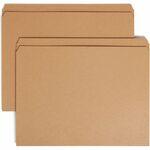 Smead 10710 Kraft File Folders with Reinforced Tab SMD10710