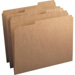 Smead 10734 Kraft File Folders with Reinforced Tab SMD10734