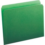 Smead 12110 Green Colored File Folders with Reinforced Tab SMD12110