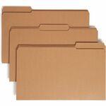Smead 15734 Kraft File Folders with Reinforced Tab SMD15734