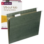 Smead 64055 Standard Green Hanging File Folders SMD64055