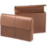 Smead 71356 Leather-Like Expanding Wallets with Elastic Cord SMD71356