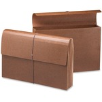 Smead 71456 Leather-Like Expanding Wallets with Elastic Cord SMD71456