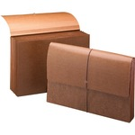 Smead 72375 Leather-Like Partition Wallets with Elastic Cord SMD72375